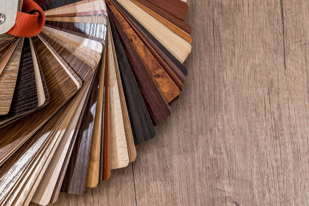 photos of wood flooring swatches