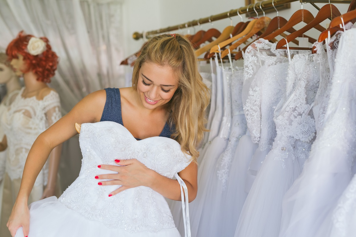 Waving Goodbye to Old Wedding Dresses