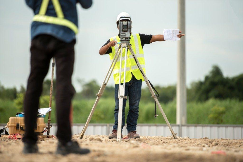 Surveying a property